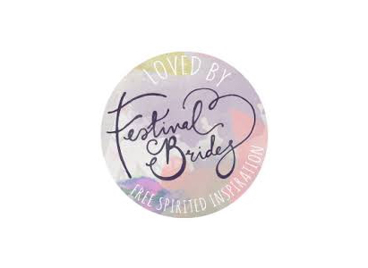 Featured in  Festival Brides!