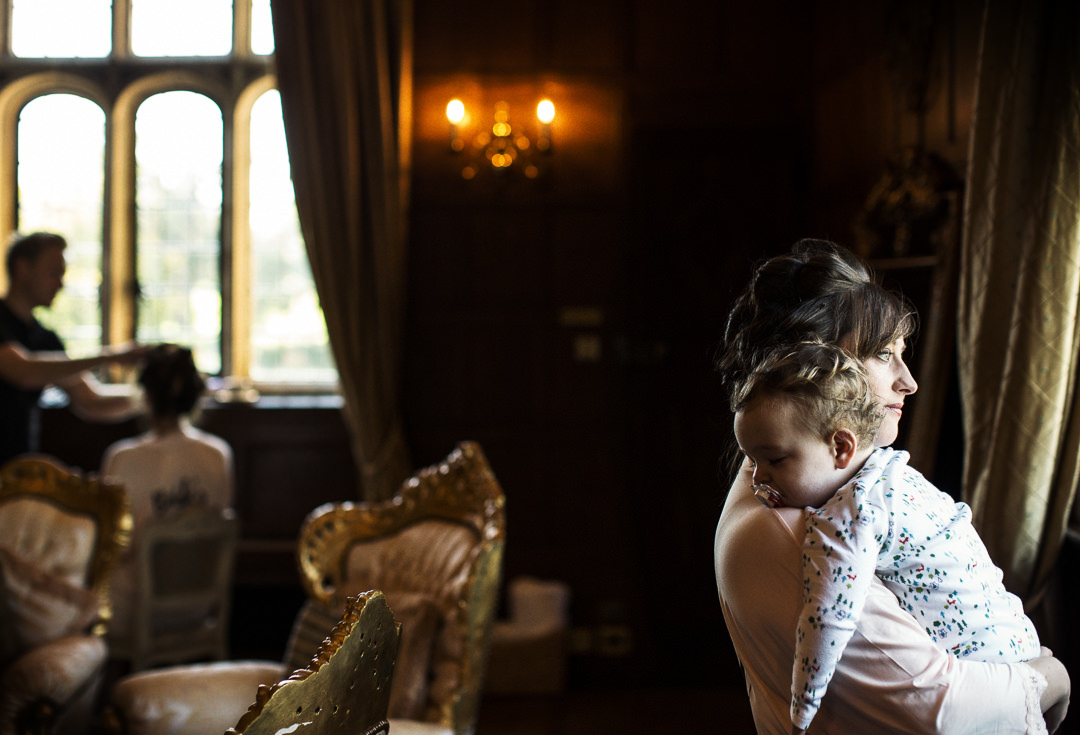 Mother and daughter at Hengrave Hall