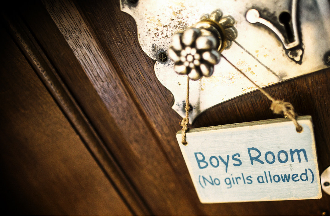 The boys room at Hengrave Hall