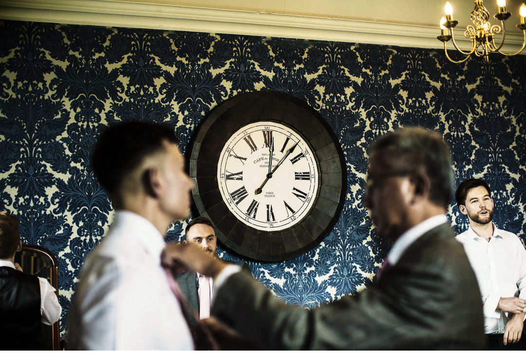 Racing against time before the wedding ceremony