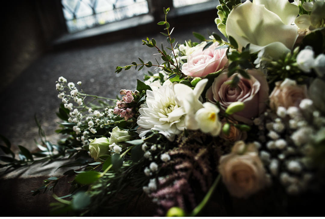 Flowers in Hengrave Hall Church