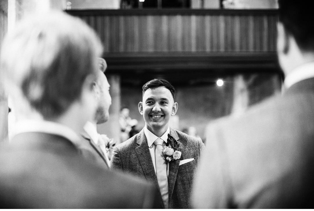 Will at Hengrave Hall Wedding