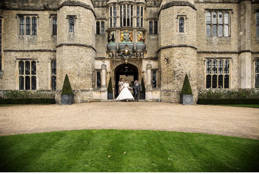 Hengrave Hall front door