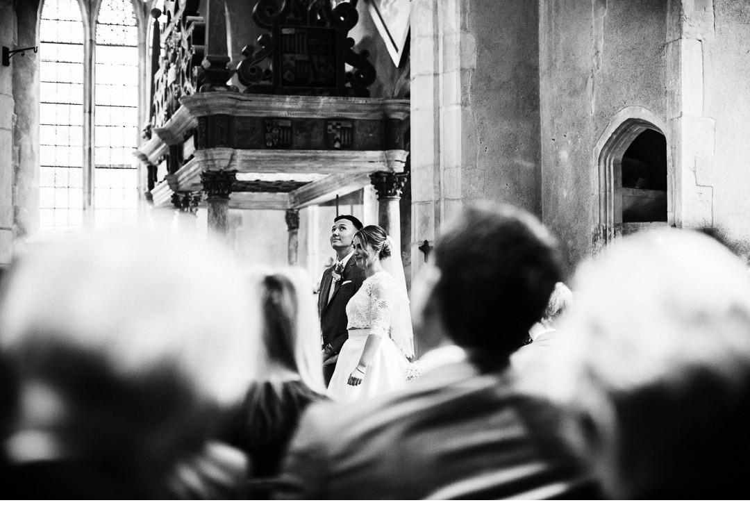 Hengrave Hall church ceremony