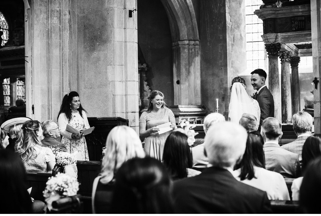 Church ceremony photography
