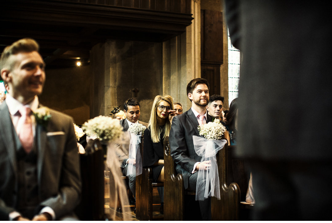 Tears at a Hengrave Hall wedding