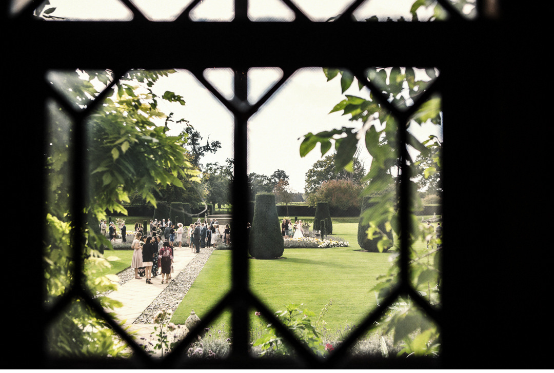 Through the looking glass at Hengrave Hall