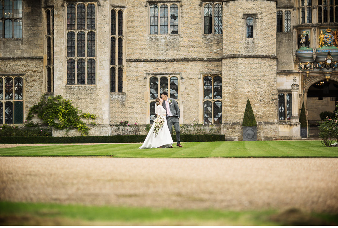 Couple shoot at Hengrave Hall