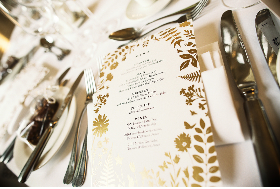 Milsolm catering menu