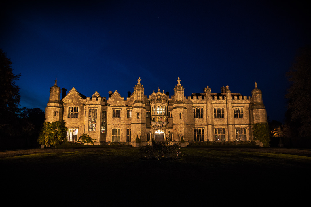 Hengrave Hall night shot