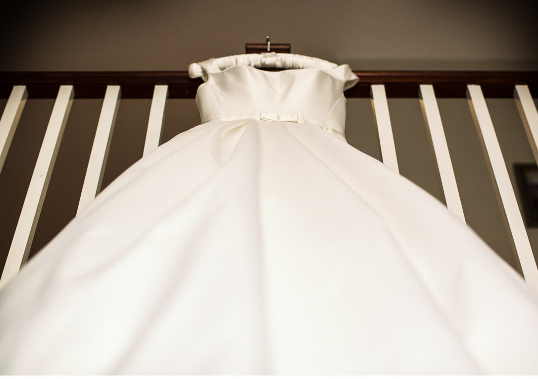 Wedding Dress at The Villiers Hotel