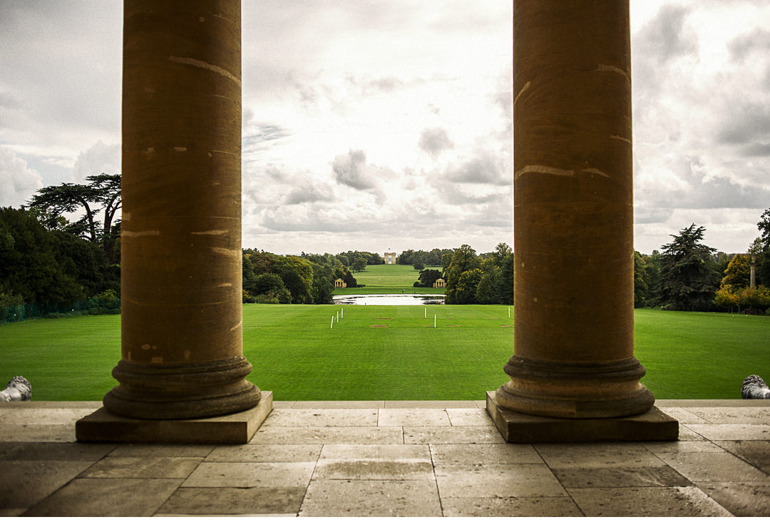 Stowe House South Portico view