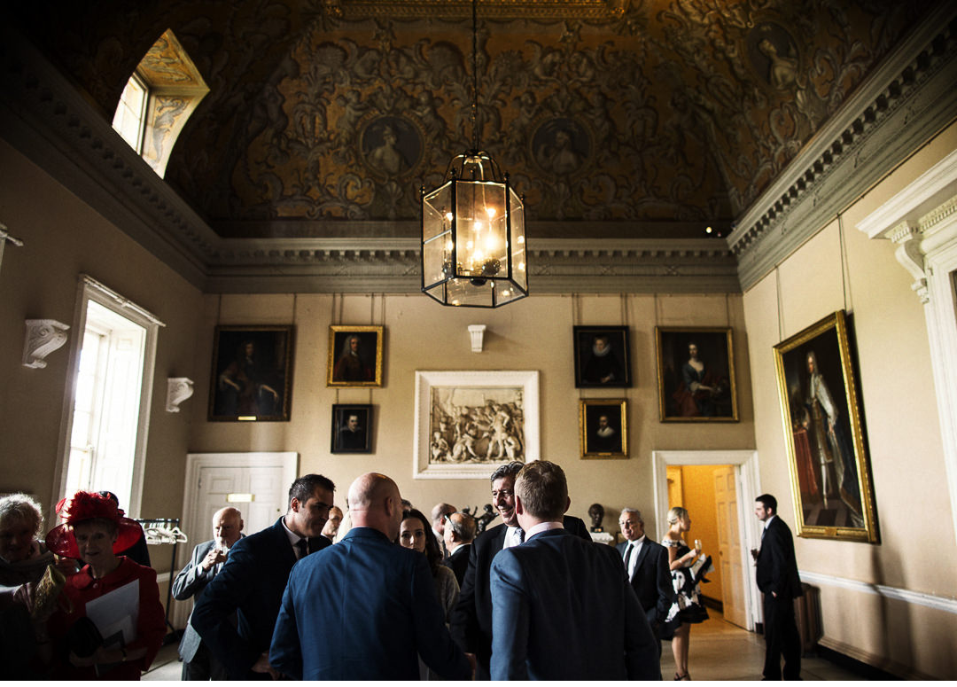 Meeting and greeting at Stowe House