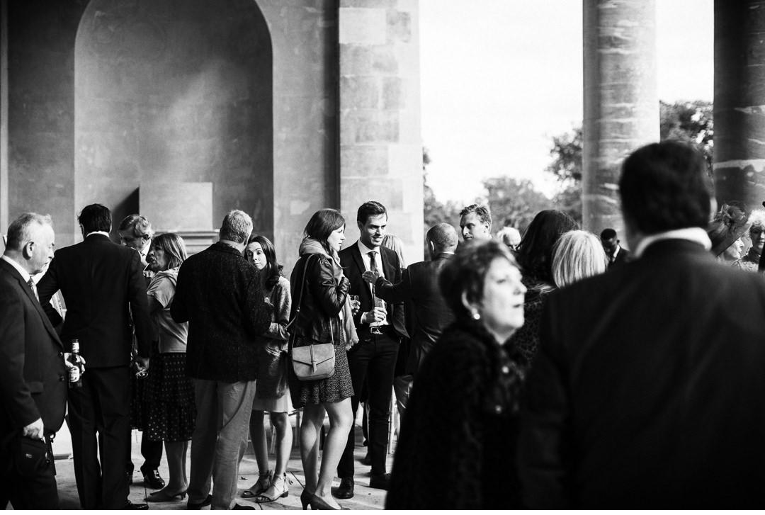 Stowe House Weddings reception