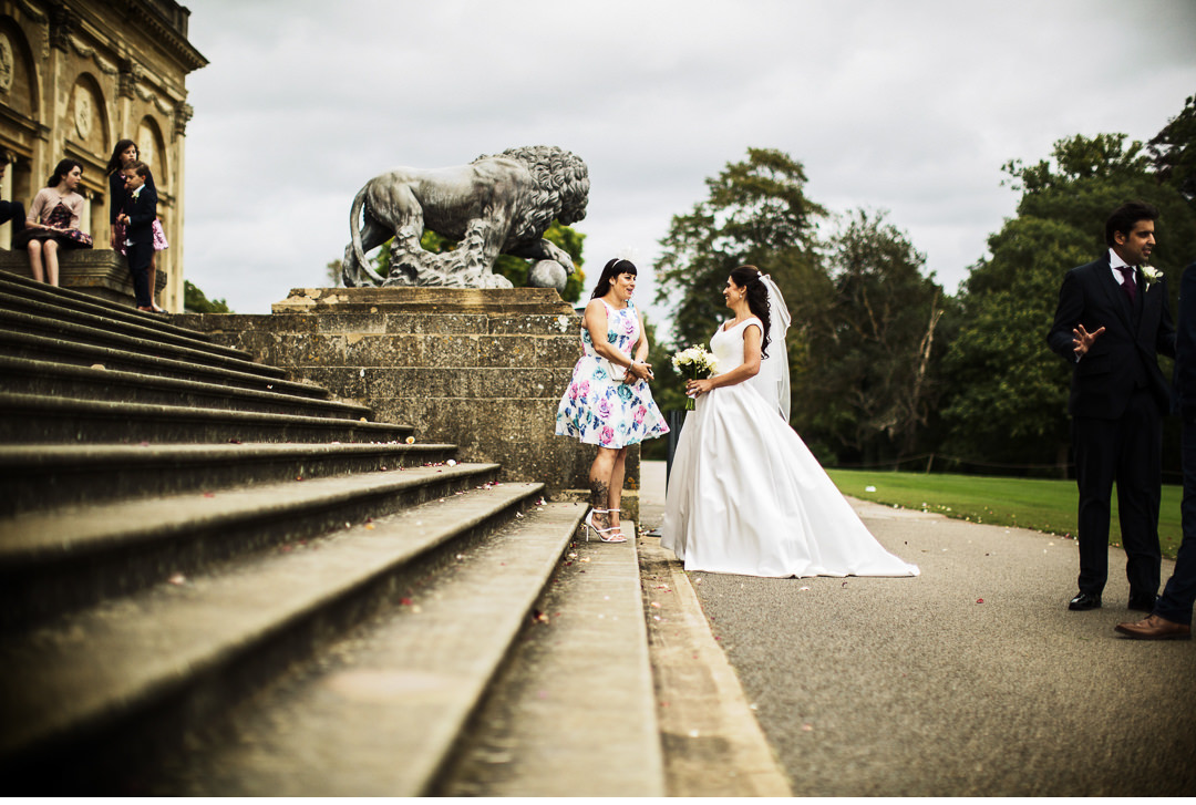 The Bride at a Stowe House Wedding