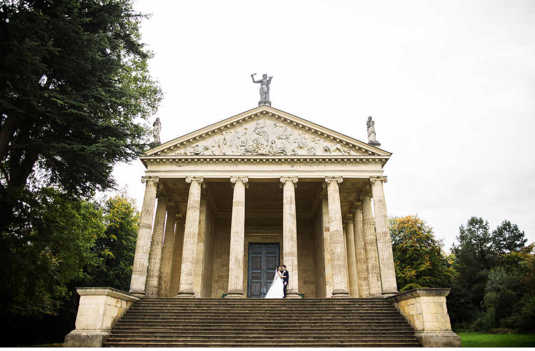 The Temple of Concorde and Victory - Stowe House