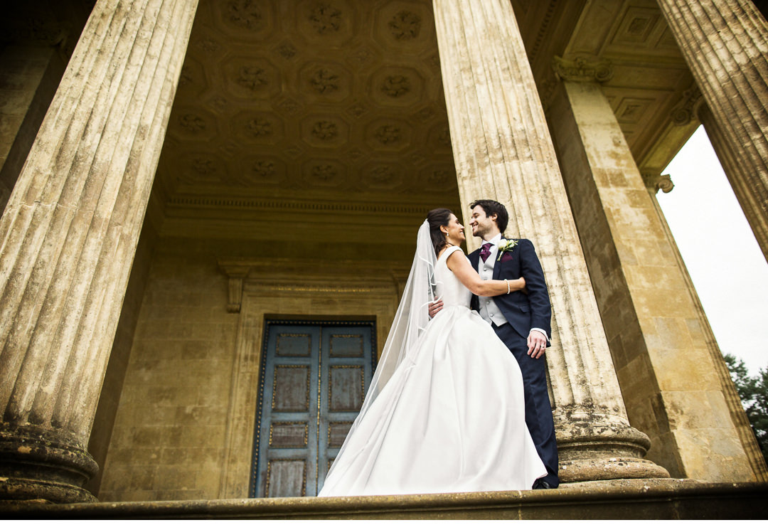 Couple shoot at Stowe House