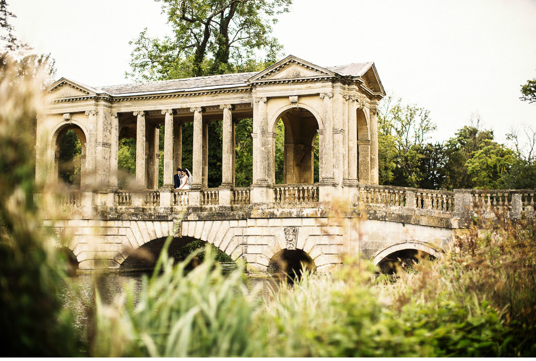 The Palladian Bridge at Stowe House