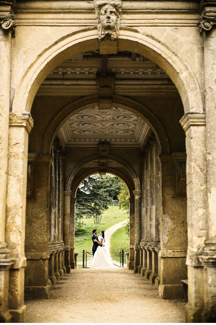 Shooting through the Palladian Bridge