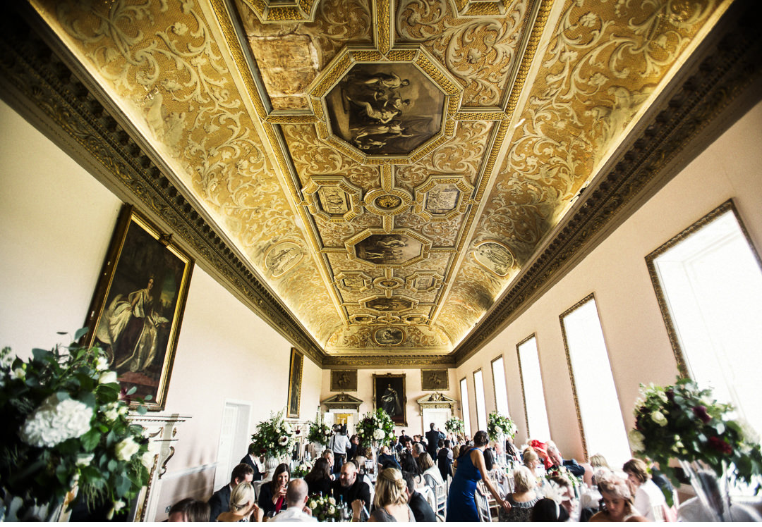 The Wedding Breakfast at Stowe House