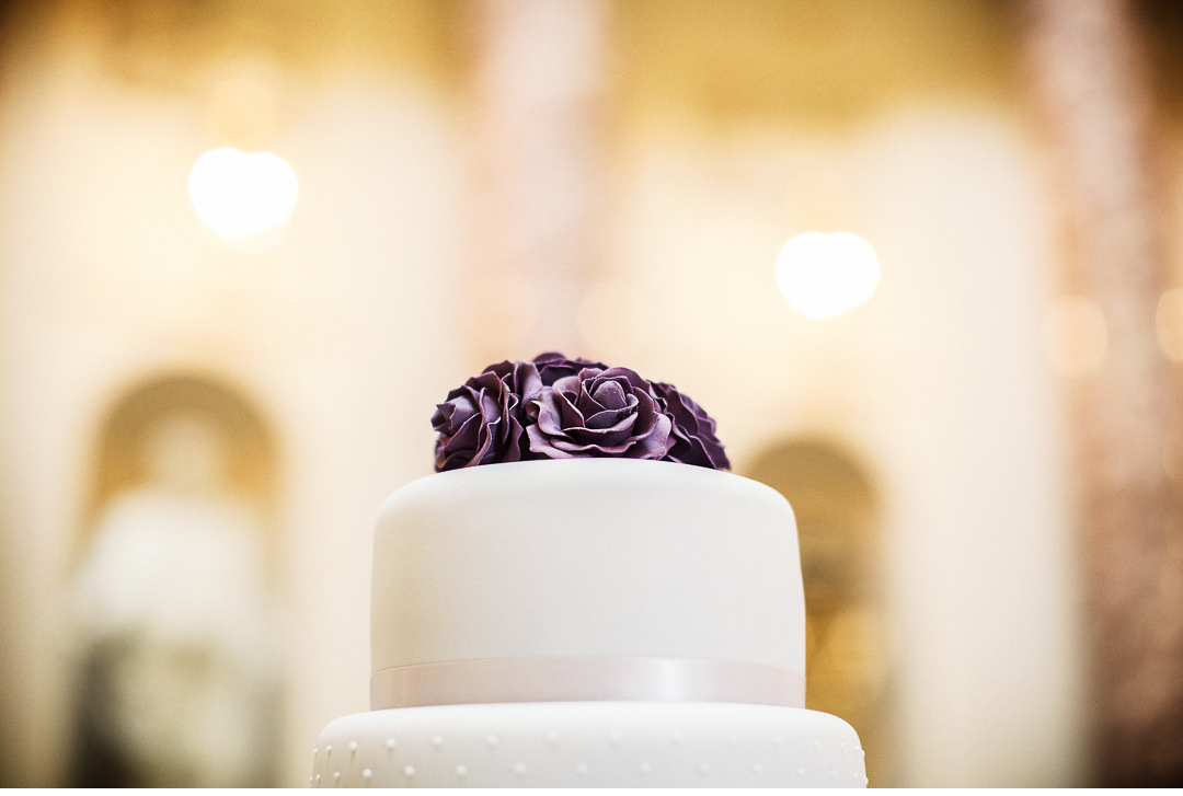 Wedding cake at Stowe House