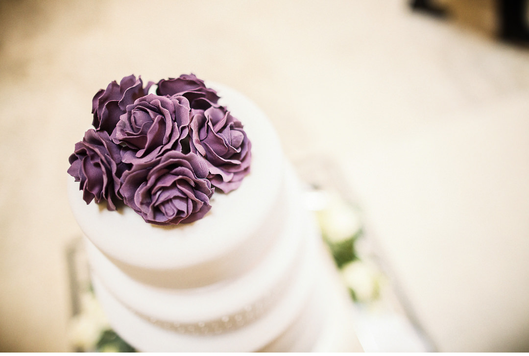 Cake icing details at Stowe House