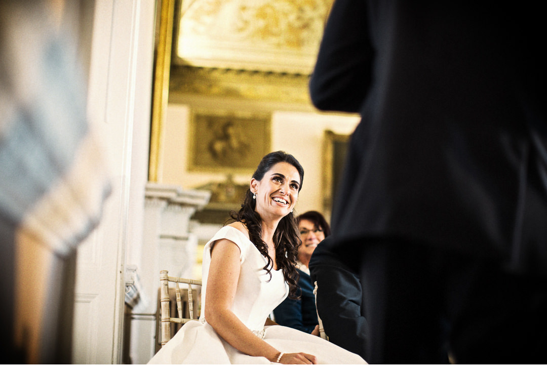 Reactions to the speeches at a Stowe House Wedding