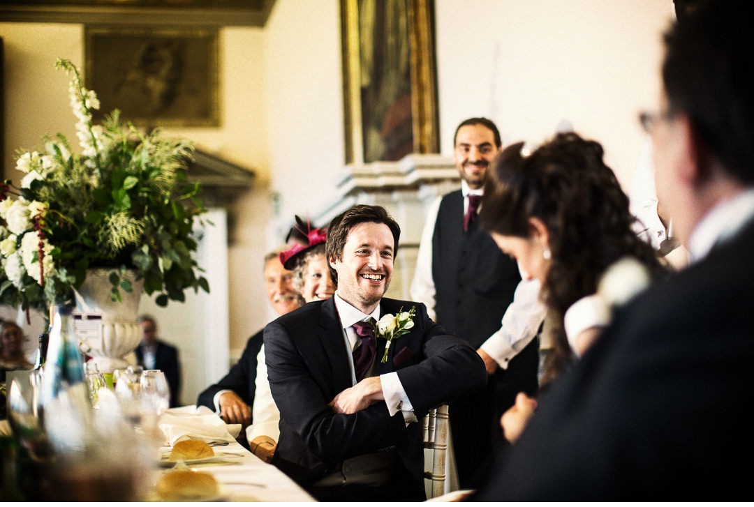 Speeches in the dining room