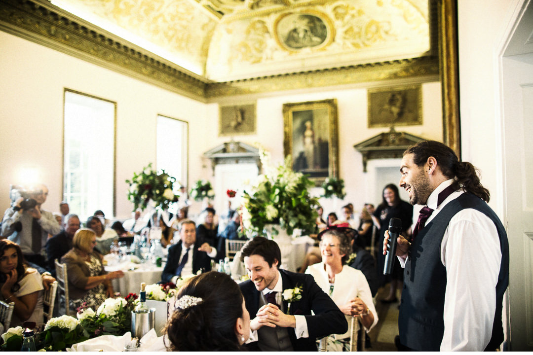 Speeches at Stowe House - The Dining Room