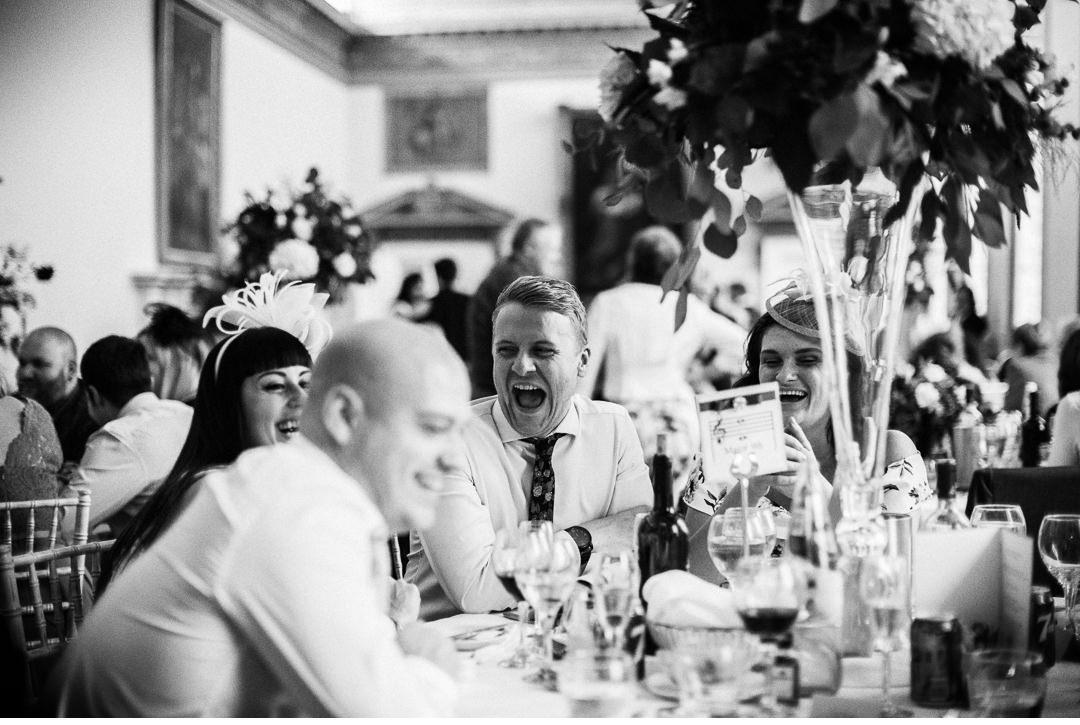 Wedding Breakfast at Stowe House