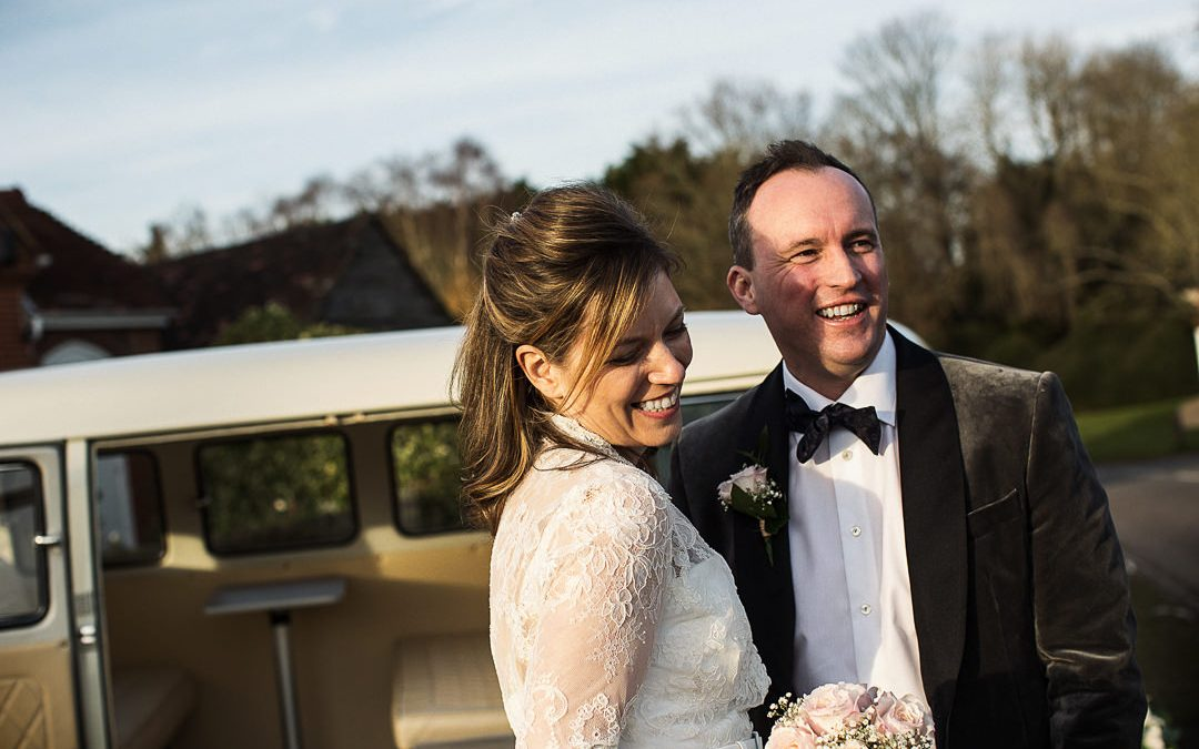The Red Lion, Shamley Green  Wedding Photography  Cathy & Darren