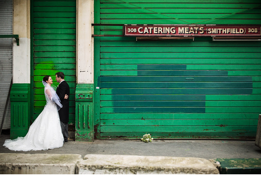 Smithfield Market wedding photographer