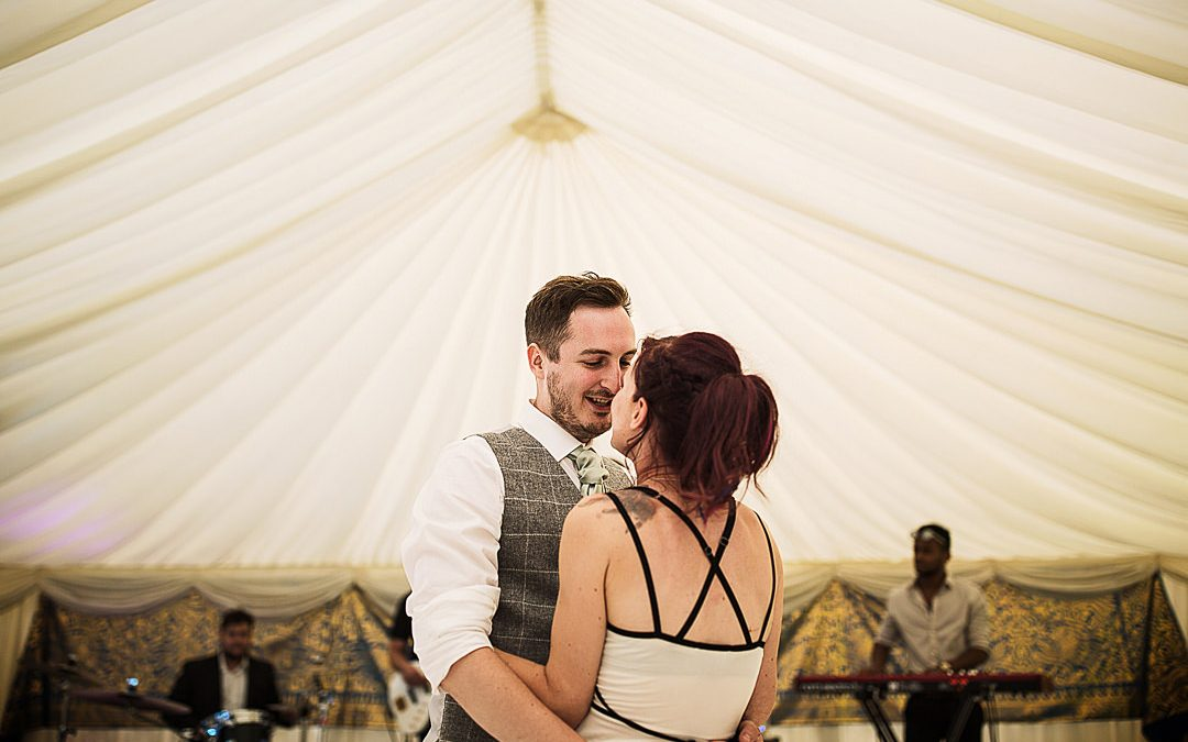 South Godstone Wedding  Private Marquee  Aimee & Dan