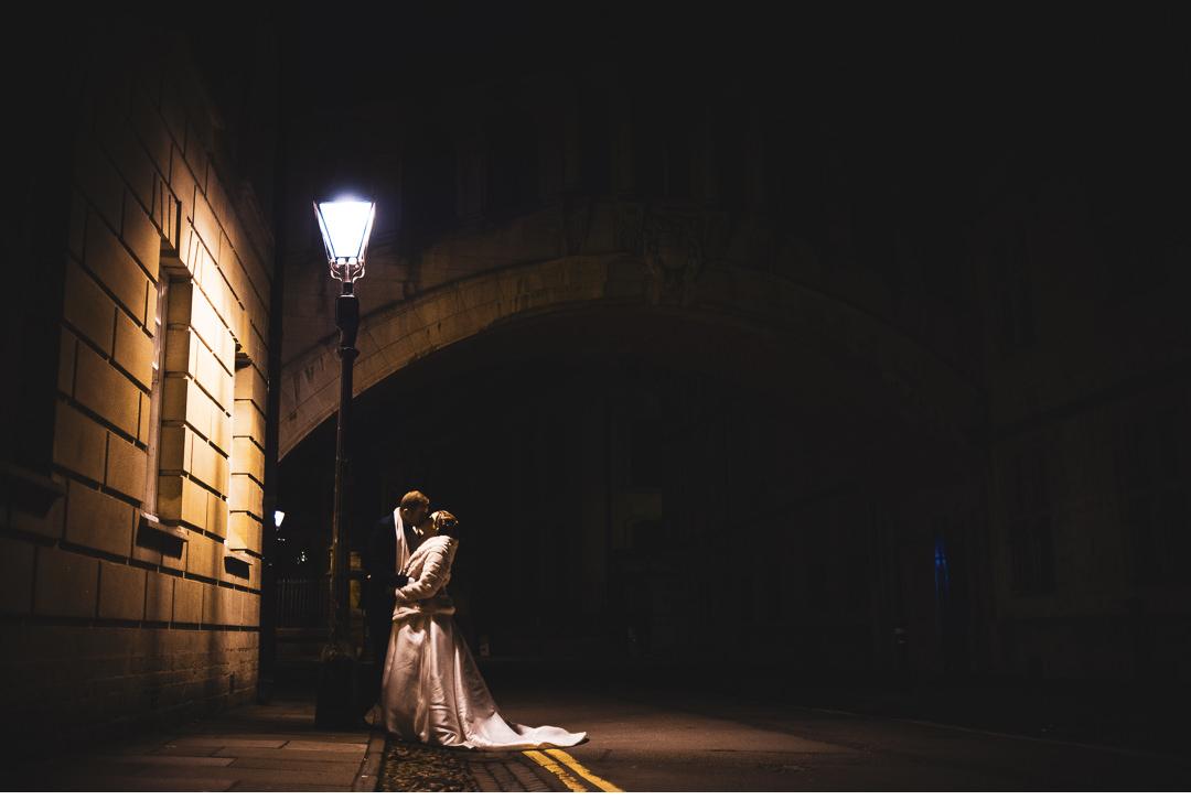 Bridge of Sighs Oxford wedding shoot