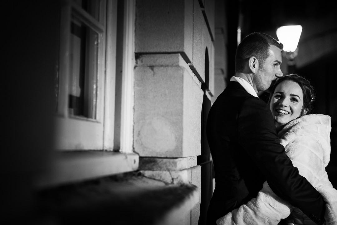 Night wedding shoot in Oxford