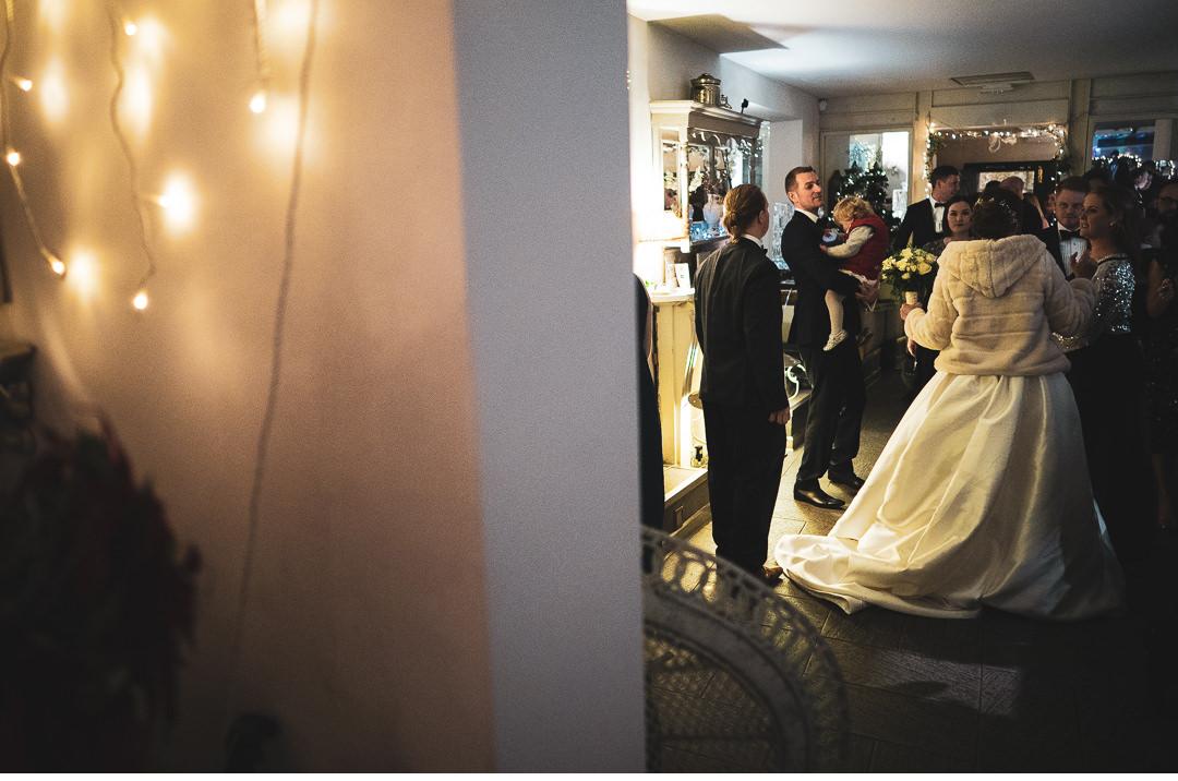 Wedding reception in Oxford