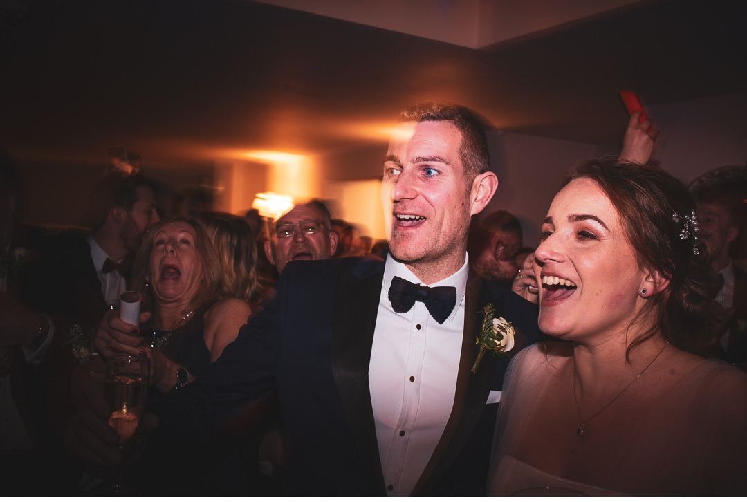 Wedding celebrations at The Folly Restaurant in Oxford