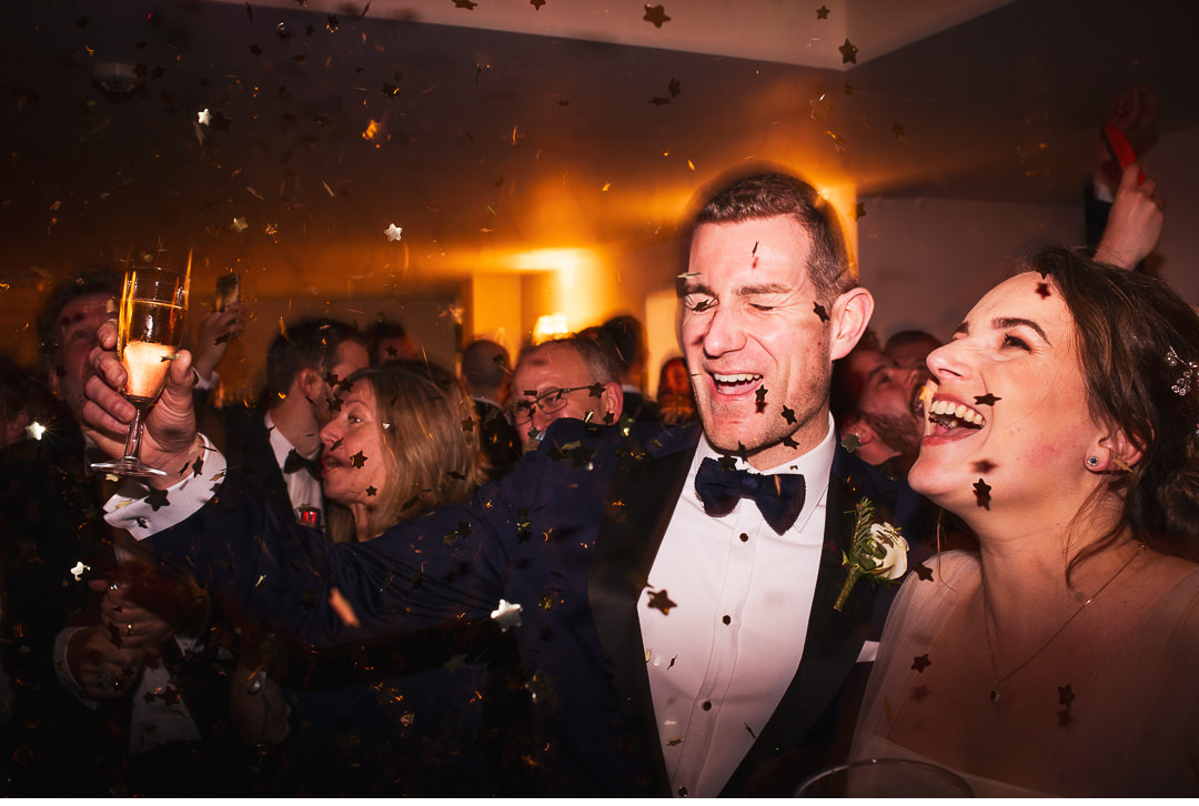 New Year's Eve wedding celebrations