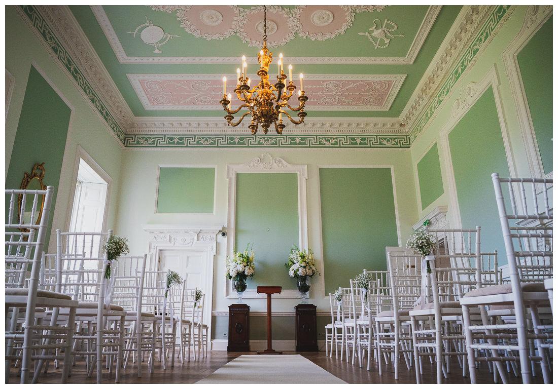 Botleys Mansion green room