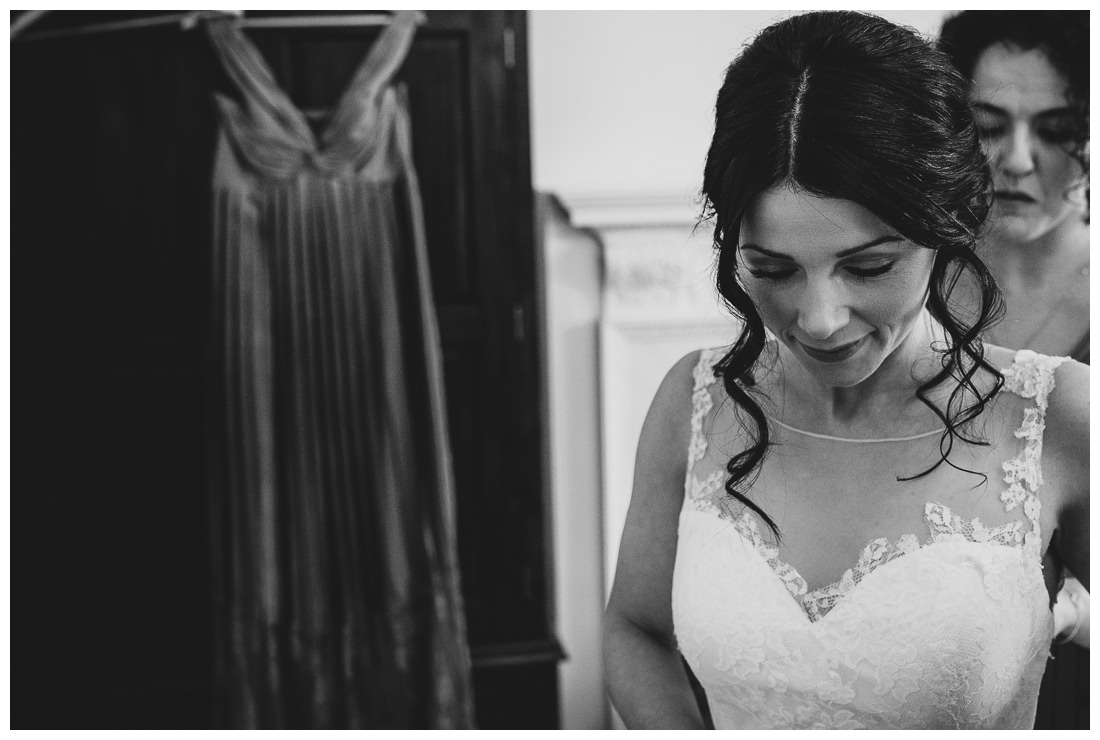 A Bride's moment of reflection
