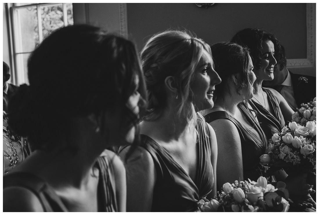 Bridemaids at Botleys Mansion