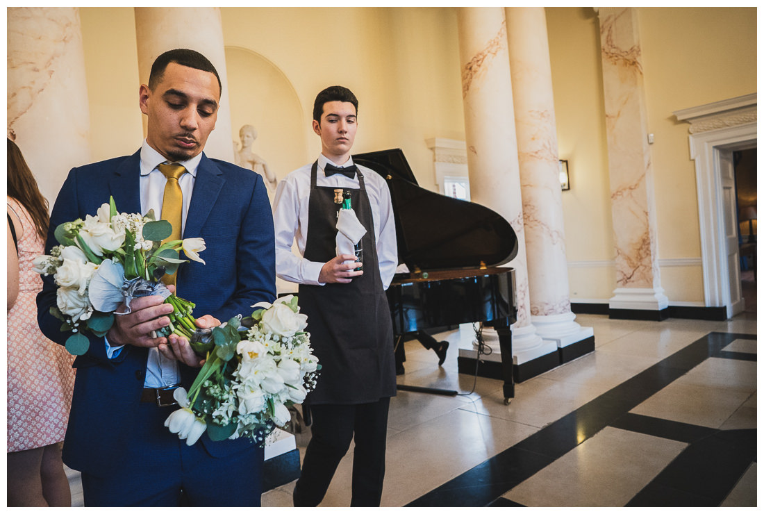 wedding flowers at Botleys Mansion