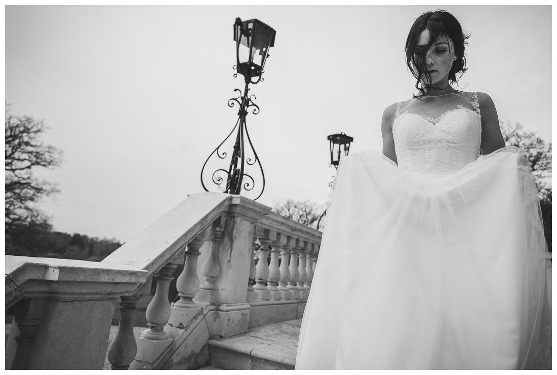 Beautiful Bride at Botleys Mansion