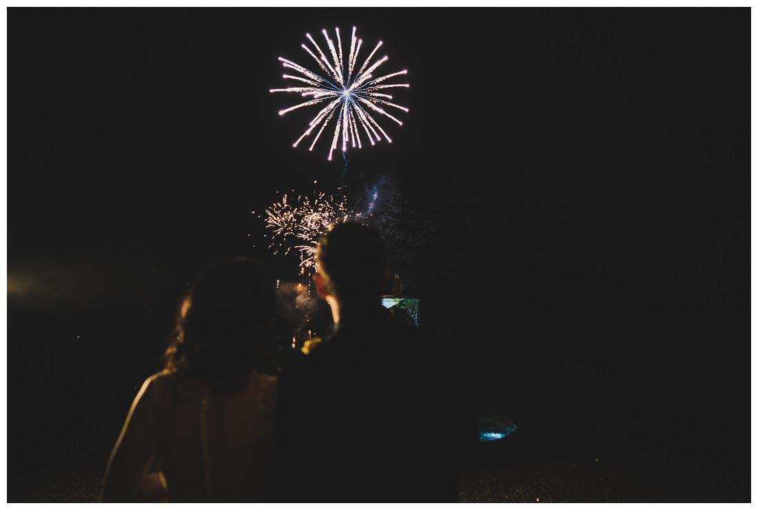 Fireworks at Botleys Mansion
