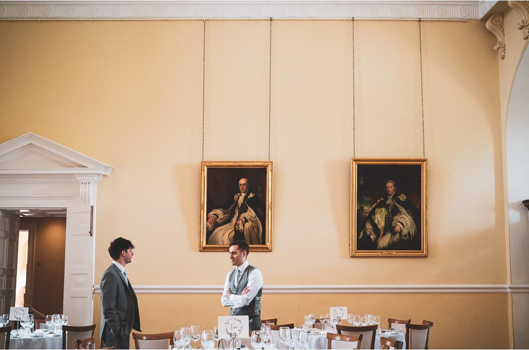 The dining room at Farnham Castle