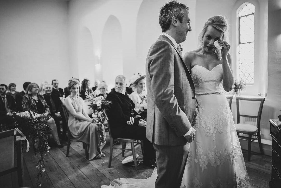 Wedding tears