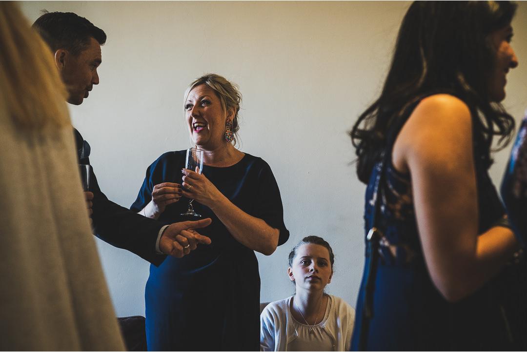 Curious kids at weddings