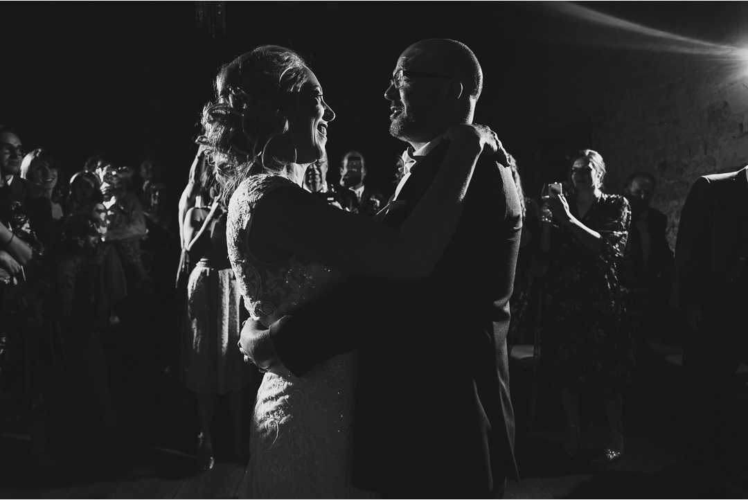 The first dance at Notley Abbey