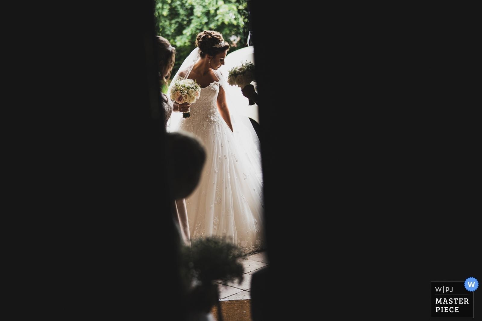 Stowe House Wedding Bride
